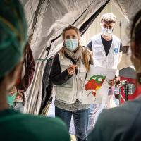 Ärzte der Welt setzt sich weltweit für die Eindämmung der Corona-Pandemie ein. Foto: Ignacio Marin
