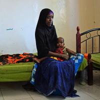 Menschen in Somalia, Äthiopien und Yemen leiden unter Hunger und der Cholerakrise. Foto: Jelle Boone
