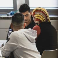 Ärzte der Welt bietet in den Münchner Flüchtlingsunterkünften psychosoziale Unterstützung an. Foto: David Gohlke