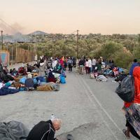 Geflüchtete in Griechenland. Foto: Th Voulgarakis.