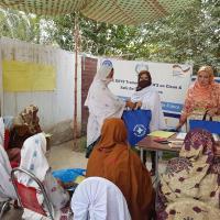 Nachhaltige Verbesserung der Gesundheitsstrukturen. Foto: Waqas Ahmed.