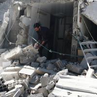 Die Zivilbevölkerung leidet unter den Folgen der Bombardierungen. Foto: Ärzte der Welt