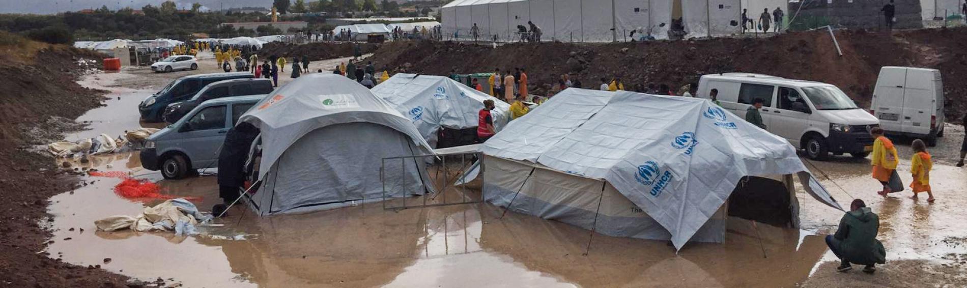In manchen Flüchtlingscamps herrschen katastrophale Bedingungen. Foto: Ärzte der Welt