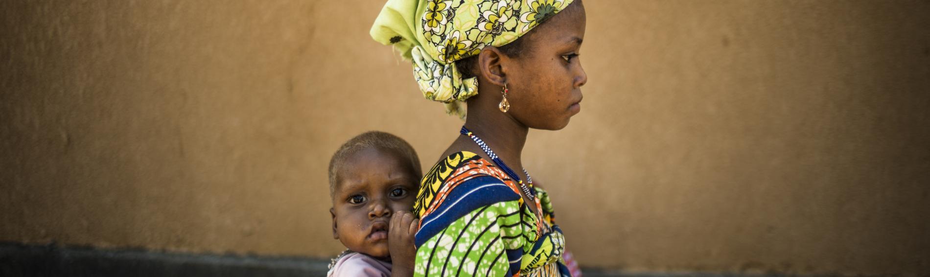Im Niger häufen sich die Fälle von Mangelernährung. Foto: Olivier Papegnies