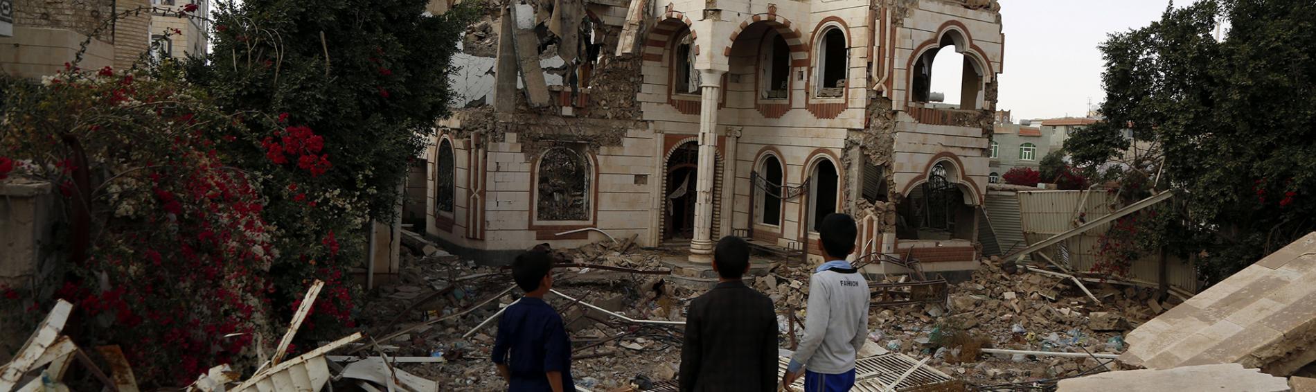 Die Menschen im Jemen sind der Corona-Pandemie fast schutzlos ausgeliefert.