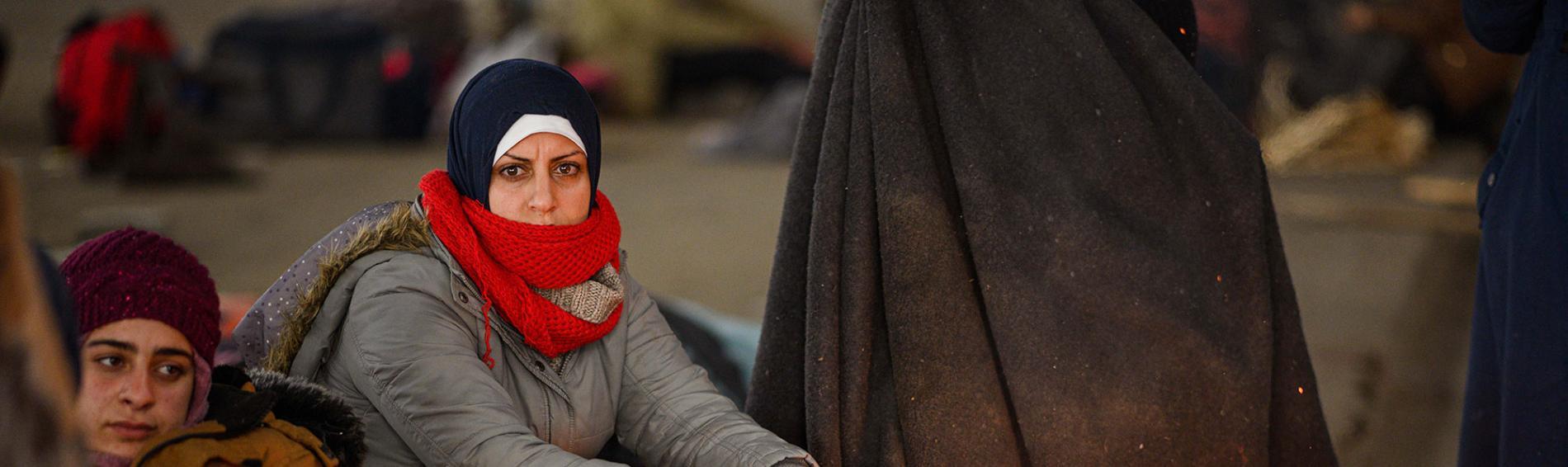 Auch Flüchtlinge in griechischen Lagern laufen Gefahr, sich mit Covid-19 zu infizieren. Foto: Reuters
