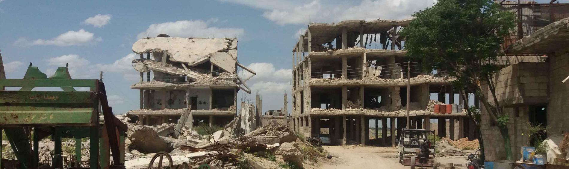 Angriff auf Zivilbevölkerung in Afrin. Foto: Medicos del Mundo.