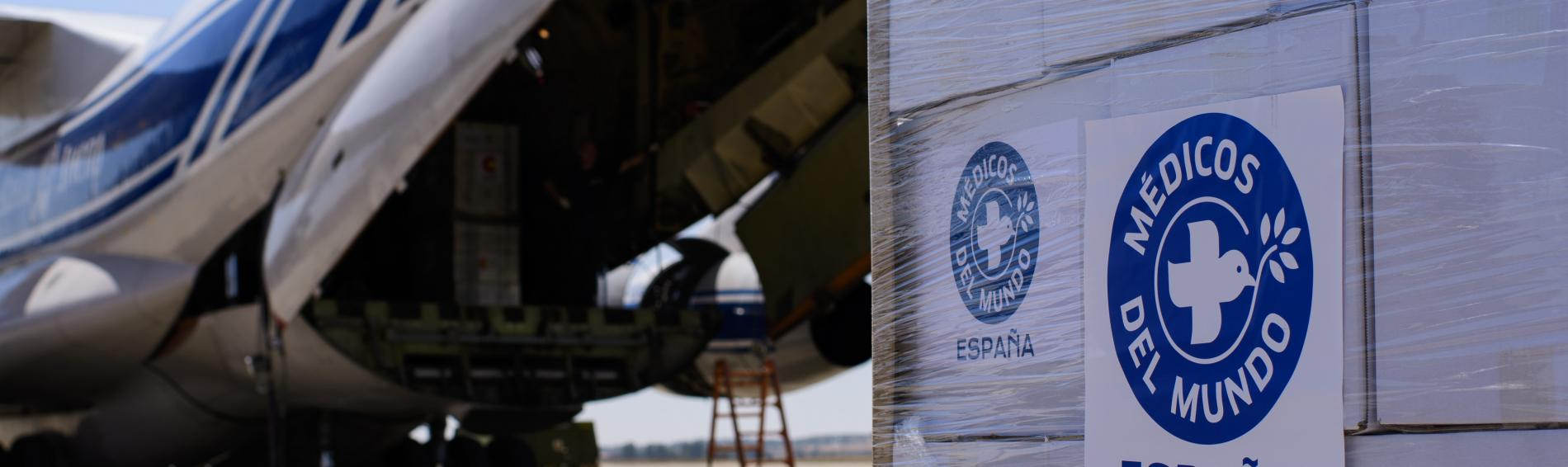 Die spanische Sektion von Ärzte der Welt hat 300 Hygienepakete nach Haiti geschickt. Foto: AECID/Spanish Ministry of Foreign Affairs
