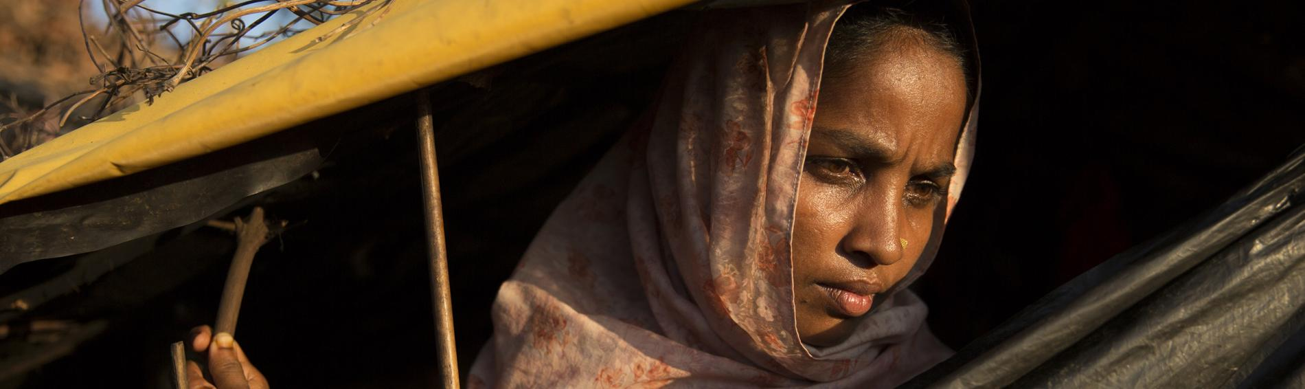 Geflüchtete Rohingya in Bangladesch. Foto: A. Finistre