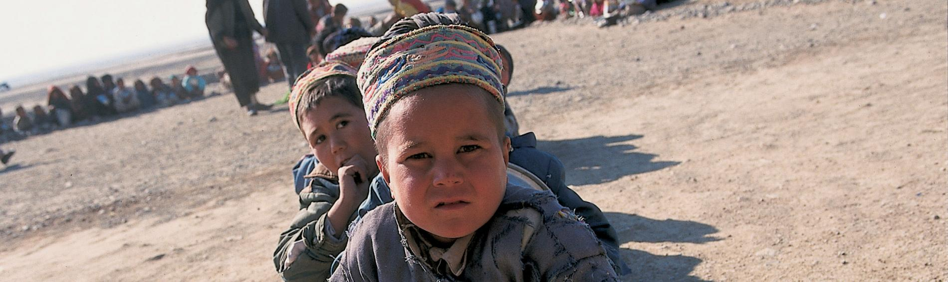 Kind in Afghanistan. Foto: Stéphane Lehr.