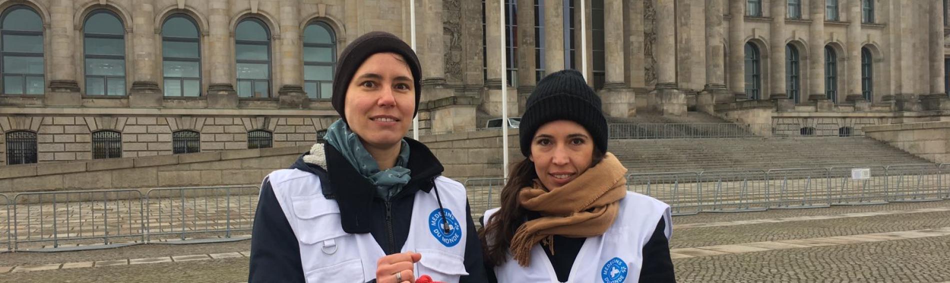 Ärzte der Welt setzt sich mit der Advocy-Arbeit für Patienten ein