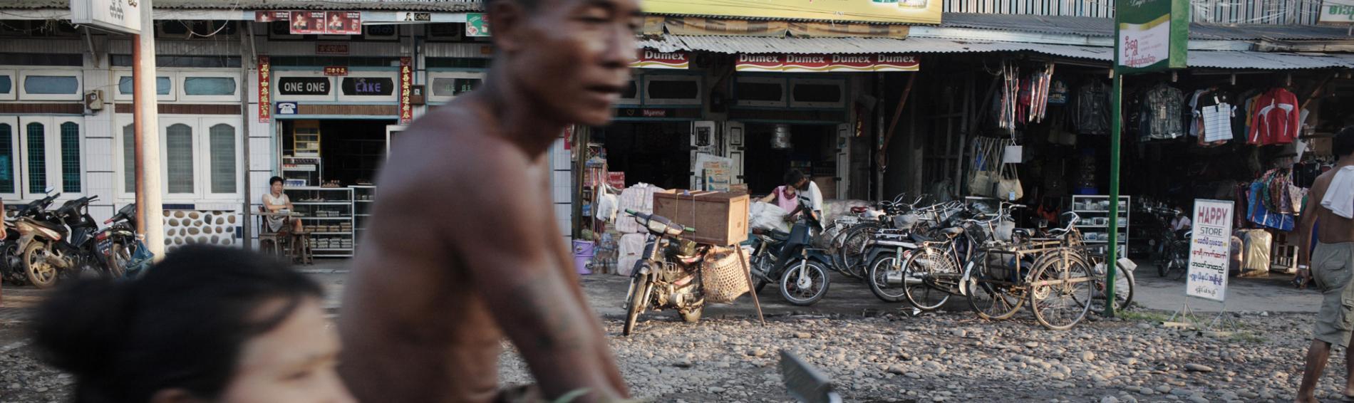 Programm von Ärzte der Welt in Burma. | Foto: Sophie Brandstrom