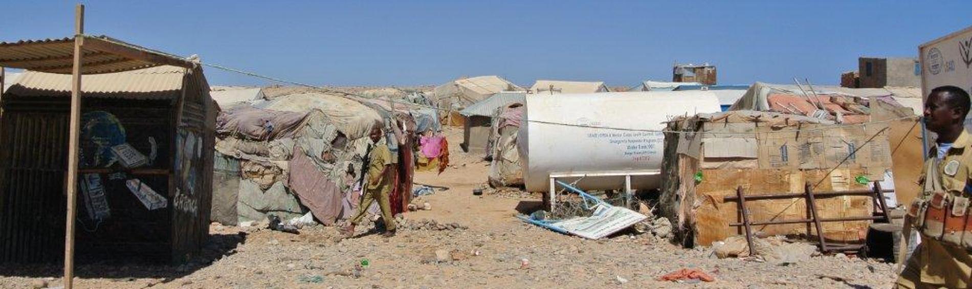 Flüchtlingscamp in Bosaso. Foto: BR