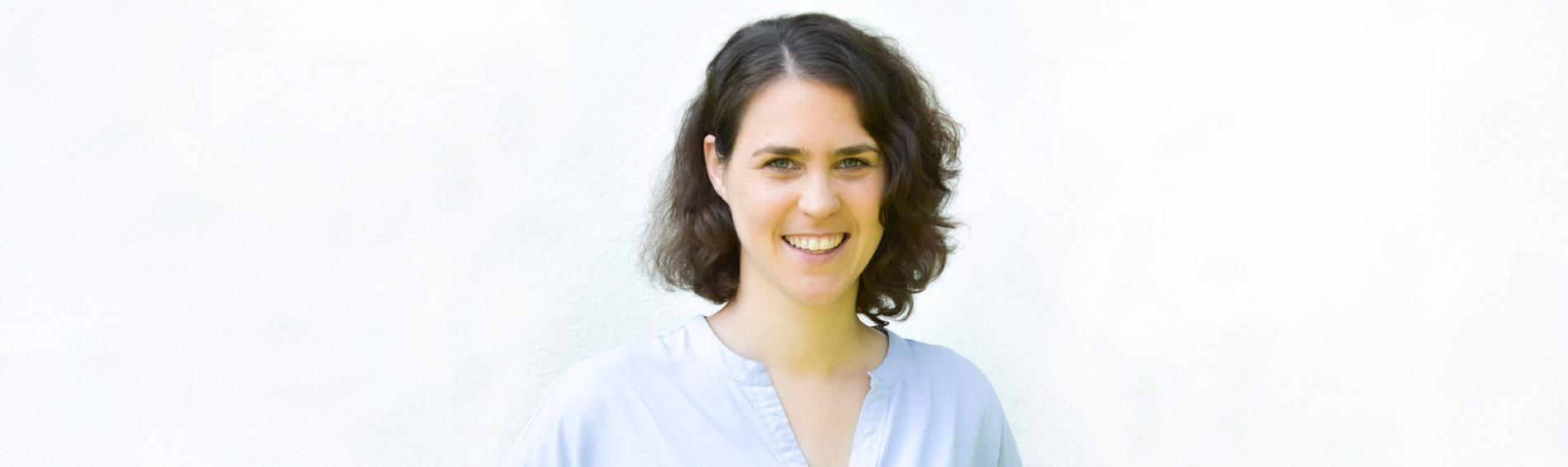 Danièle Böhm arbeitet im Fundraising bei Ärzte der Welt. Foto: Ärzte der Welt