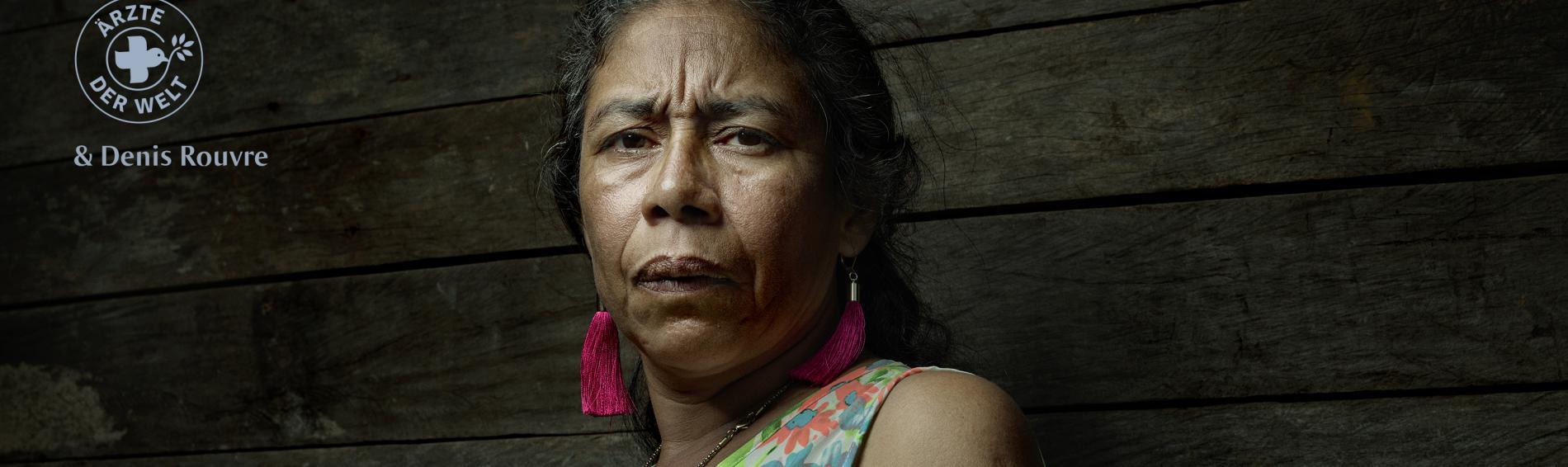 """""""Früher dachte ich, dass ich all das, was passiert ist, verdient hätte. Ich habe still gelitten und niemandem etwas gesagt."""" Die Kolumbianerin Diana Patricia Solís hat die Gewalt überlebt."""