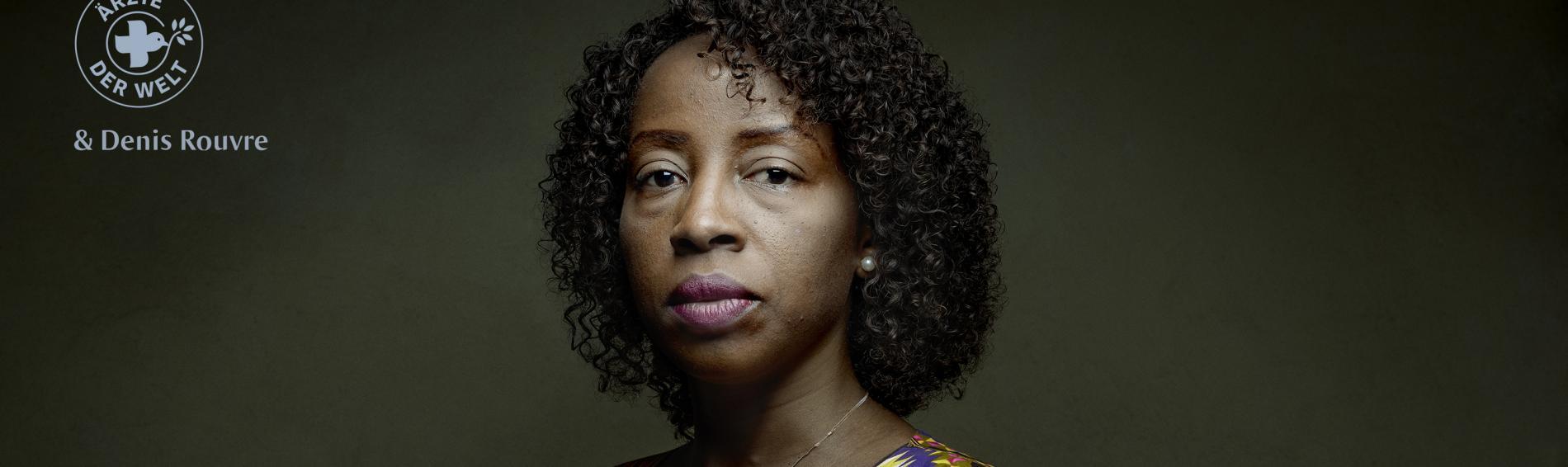 """""""Auch wenn wir den Krieg erlebt haben und wie Frauen vor den Augen ihrer Familie vergewaltigt worden sind, geben wir weiterhin den Frauen die Schuld."""" Kongolesische Aktivistin Annie Tenga Modi"""