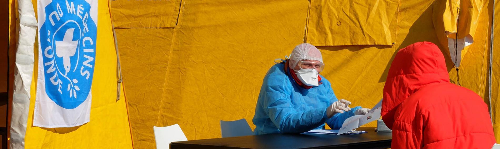 Ärzte der Welt Frankreich ist im eigenen Land, wie hier in Strasbourg, seit Jahrzehnten aktiv. Foto: Nicholas Fuchs, Ärzte der Welt