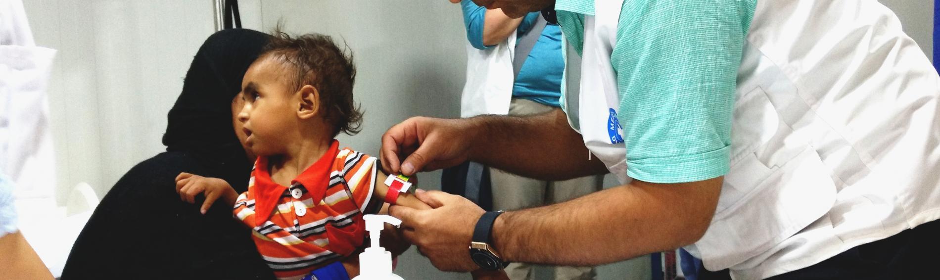 Viele Kinder im Irak sind mangelernährt. Foto: Ute Zurmühl