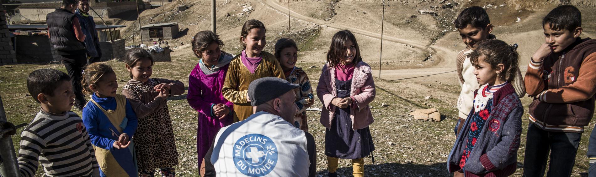 Ärzte der Welt kümmert sich um Kinder im Irak