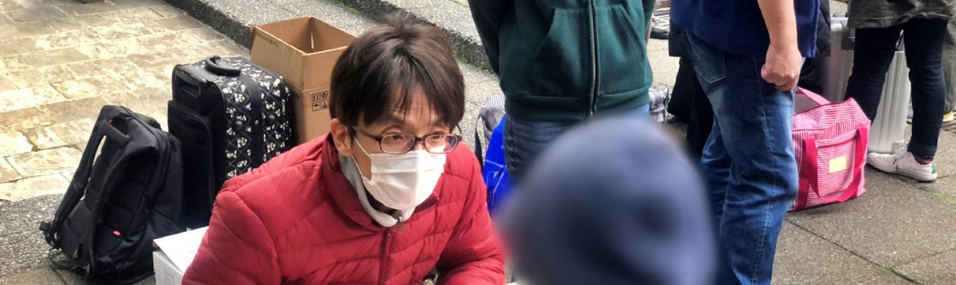 Ärzte der Welt Japan führt für Obdachlose Informationskampagnen durch. Foto: Ärzte der Welt