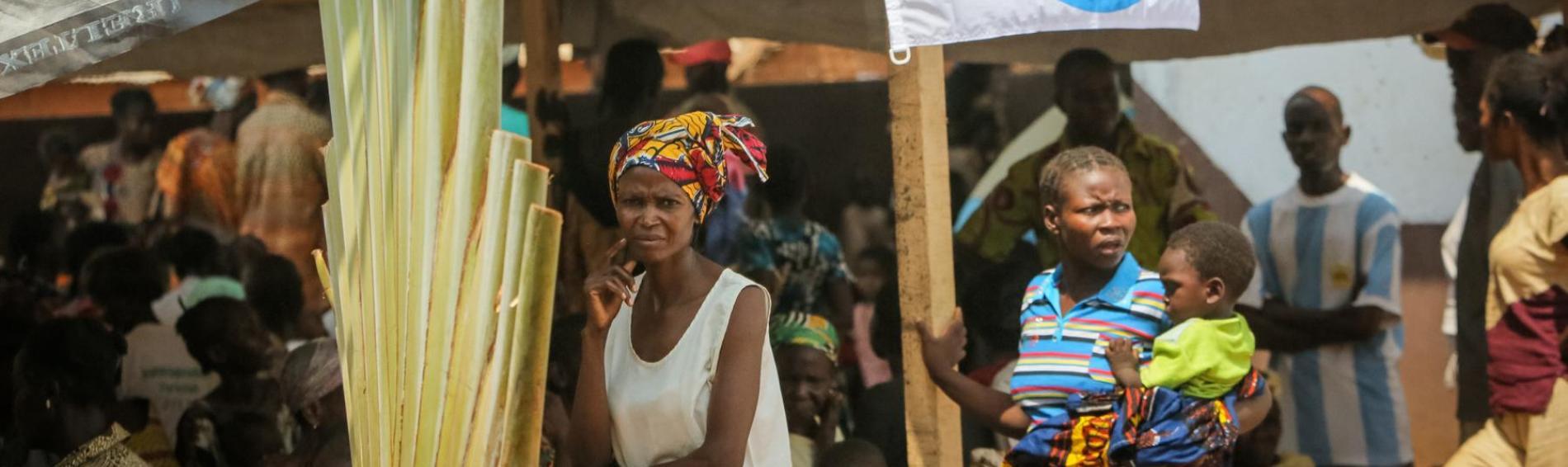 Klinik Gobongo in der Zentralafrikanischen Republik. Foto: Sébastien Dujindam
