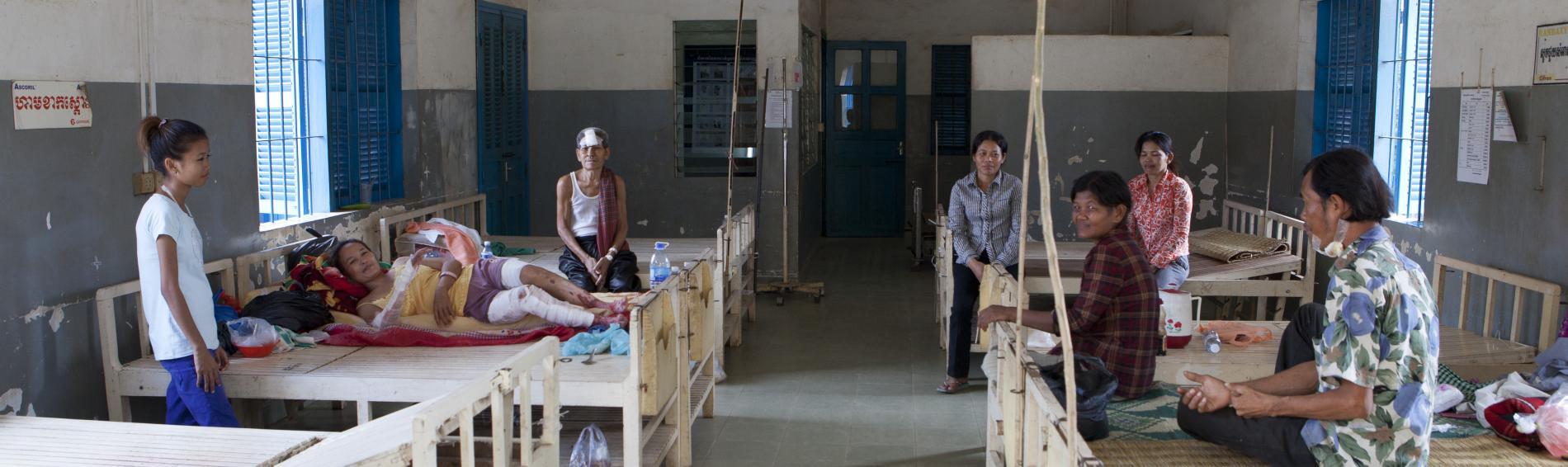 Gesundheitszentrum in Phon Penh. Foto: Fabian Fierchter