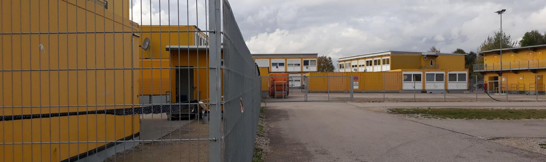 Ankerzentrum. Foto: Bayerischer Flüchtlingsrat