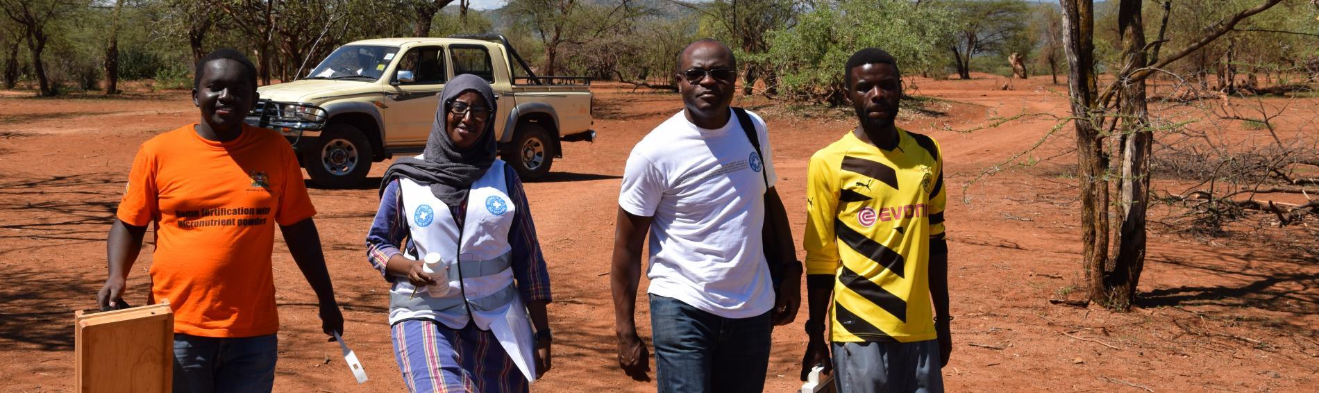 Ärzte der Welt-Mitarbeiter in Kenia. Foto: Jelle Boone