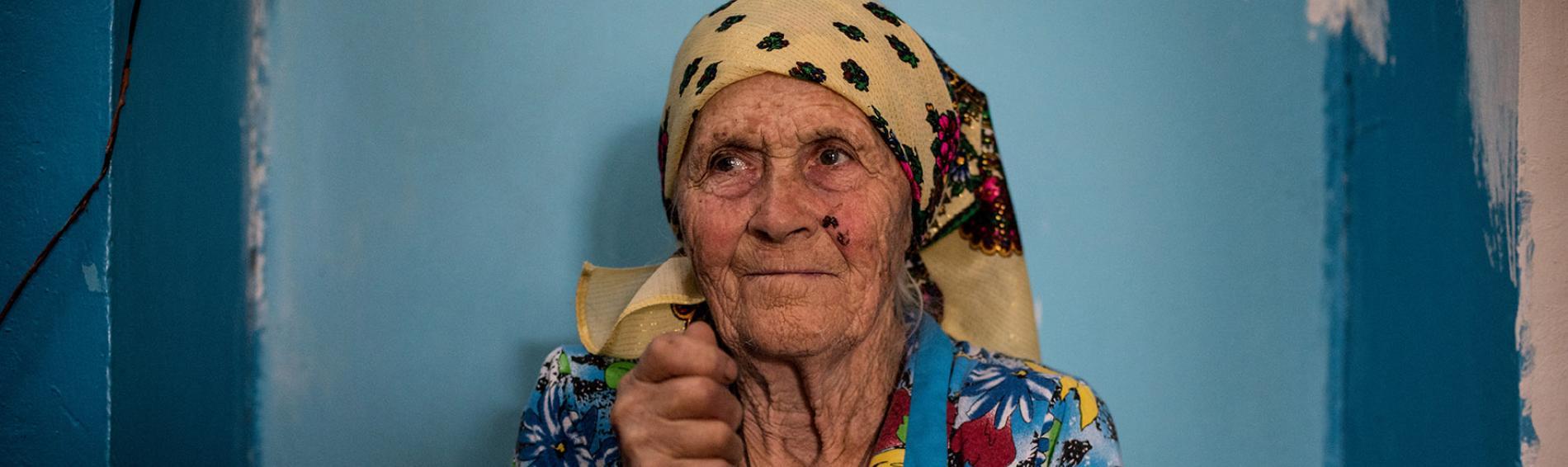 Die ukrainische Bevölkerung im Donbass ist schon jetzt medzinisch schlecht versorgt. Foto: Evgeniy Maloletka