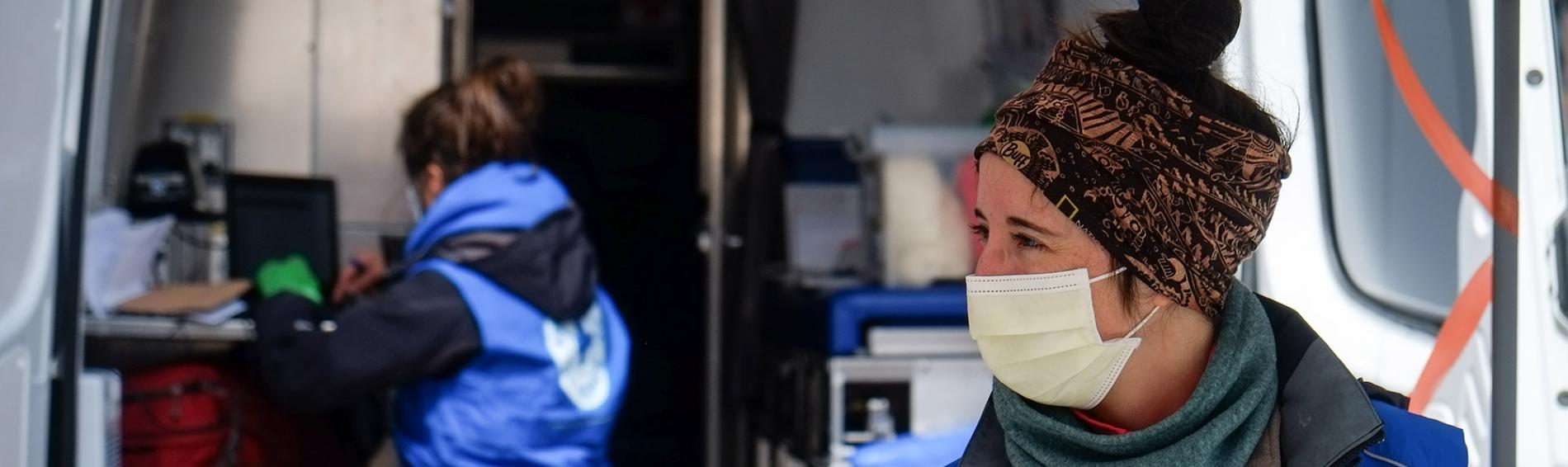 Ärzte der Welt Kanada ist auch trotz der Coronakrise aktiv. Foto: Cédric Martin