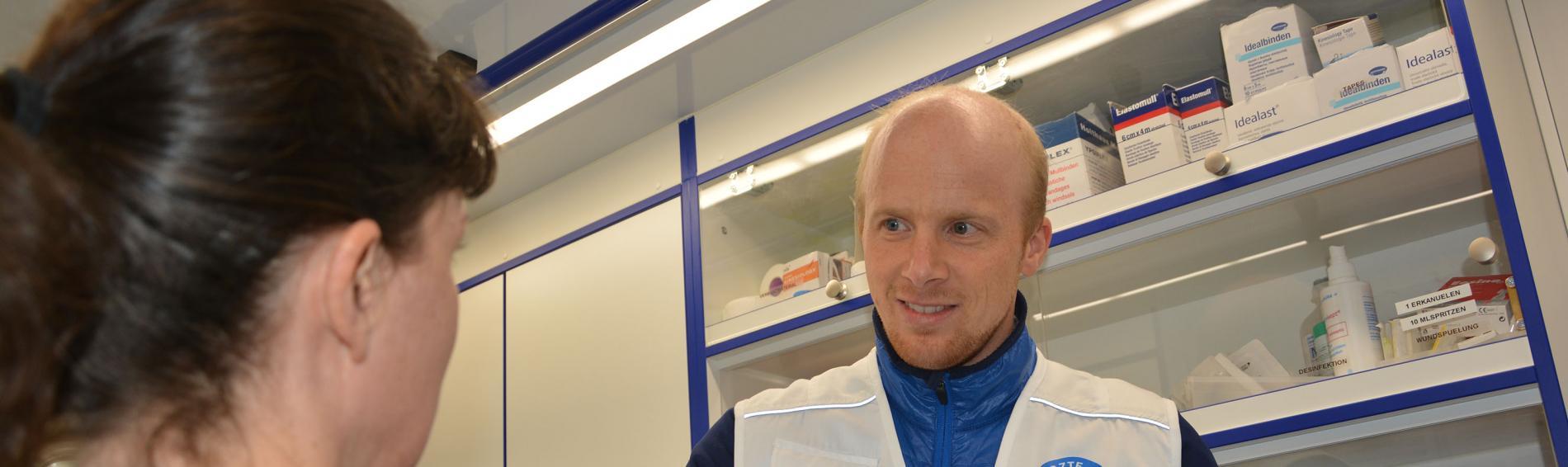 Jakob Reineke, MedMobil Stuttgart. Foto: Isabell Hoch
