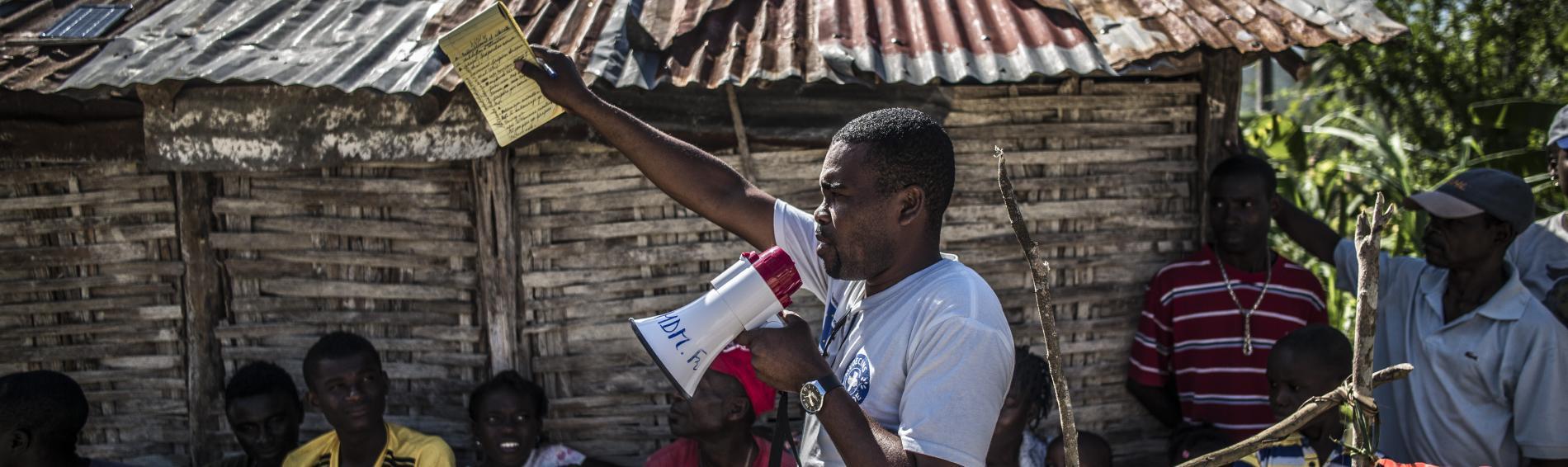 Ärzte der Welt setzt sich weltweit für das Menschenrecht Gesundheit ein. Foto: Olivier Papegnies
