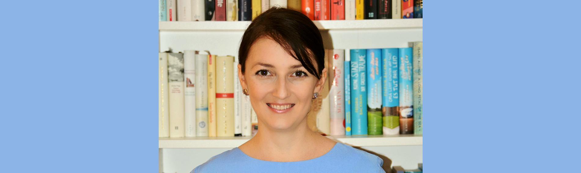 Monica Ilea ist Dolmetscherin bei open.med München. Foto: privat
