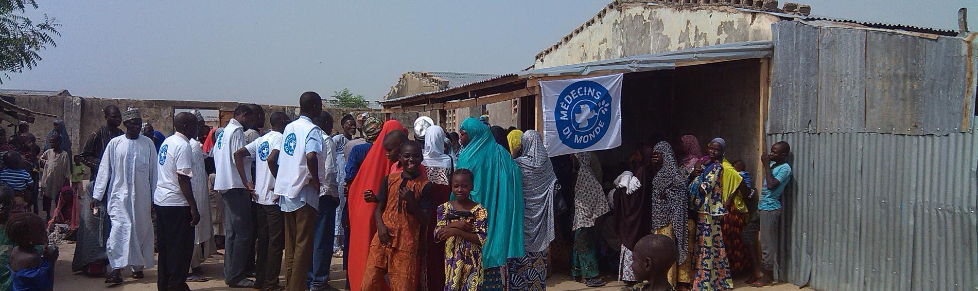 Ärzte der Welt bietet den Menschen in Nigeria eine medizinische Basisversorgung. Foto: Ärzte der Welt