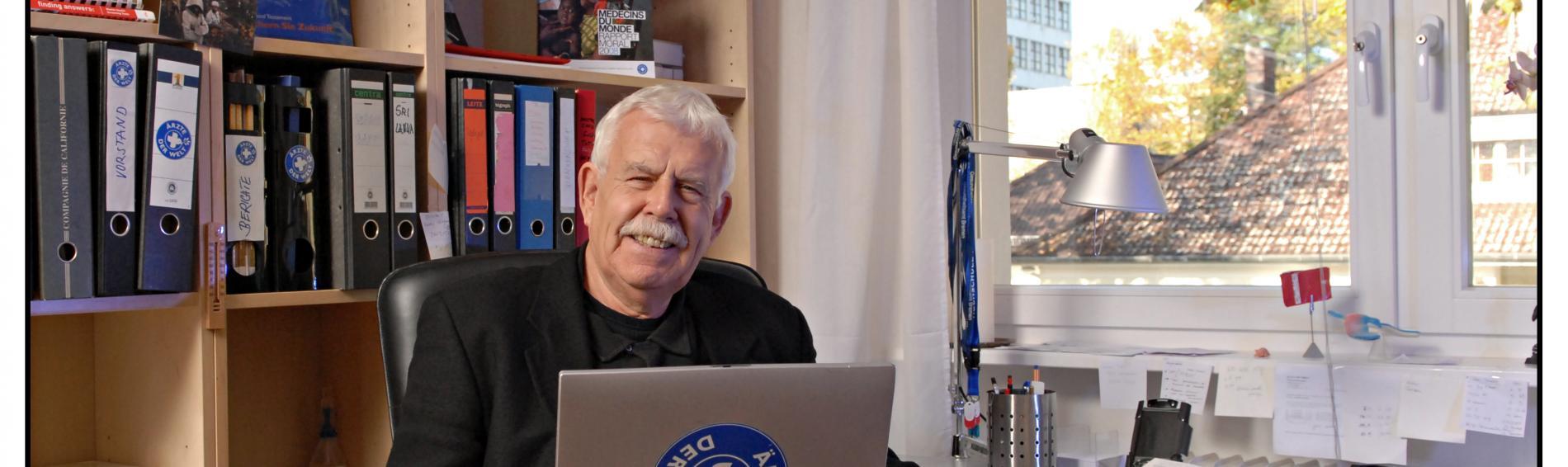 Prof. Heinz-Jochen Zenker, ehemaliger Vorstandsvorsitzender von Ärzte der Welt