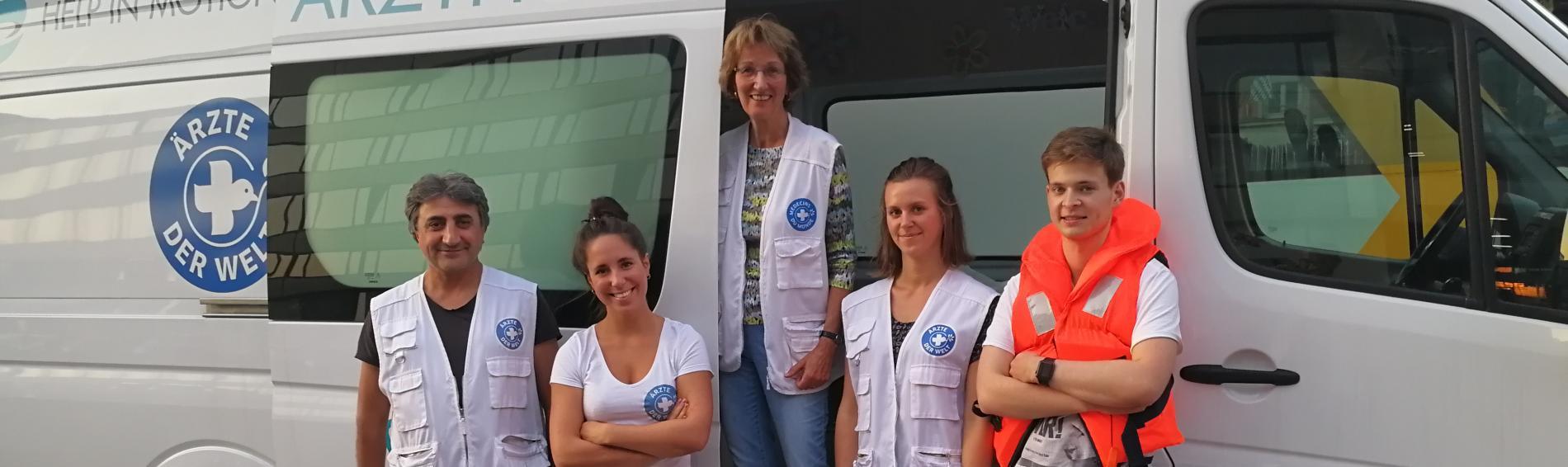 Dr. Ingeborg Oster im open.med-Behandlungsbus