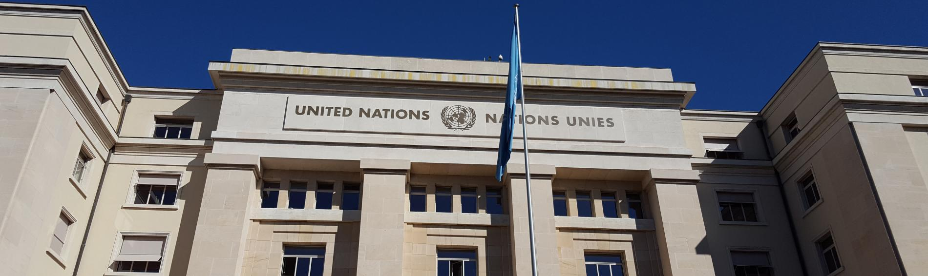Auch vor der UN trug Ärzte der Welt seinen Parallelbericht vor
