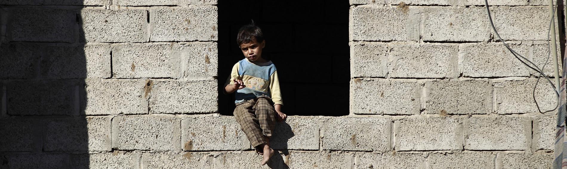 Junge im Jemen. Foto: Ärzte der Welt