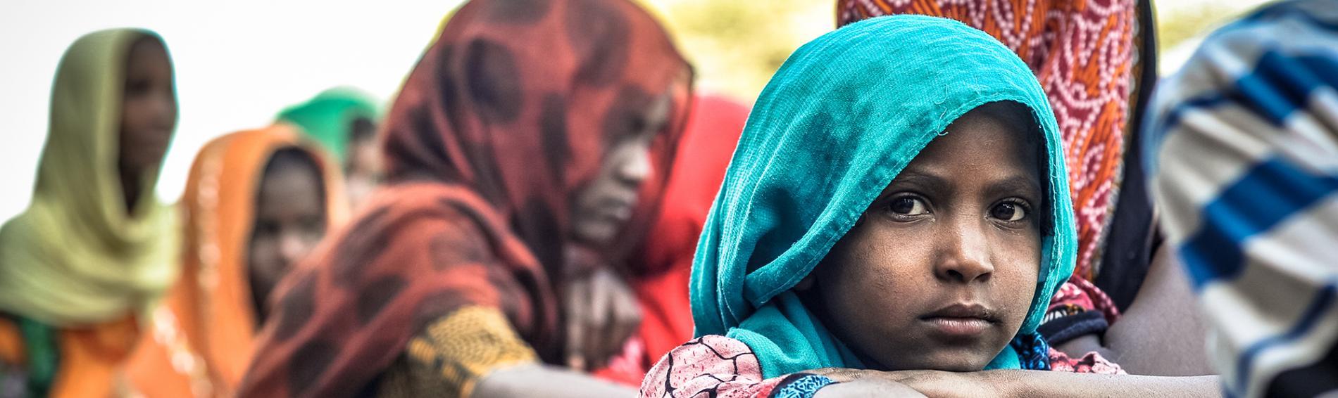 Viele Menschen im Nordosten Äthiopiens leben Halbnomaden, von einer bescheidenen Landwirtschaft. Foto: Quentin Top