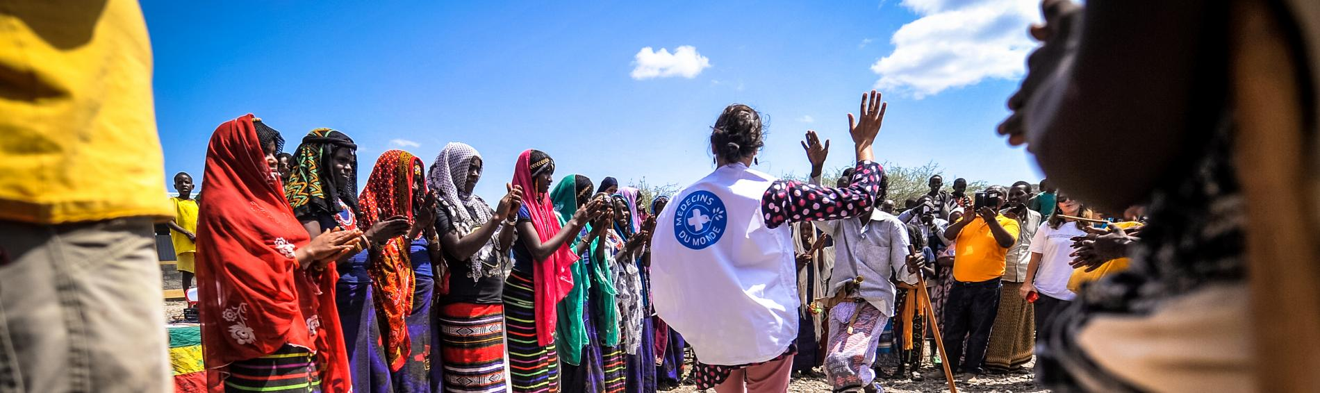 Ärzte der Welt arbeitet eng mit lokalen Partnern zusammen, um das Recht auf Gesundheit zu verwirklichen. Foto: Quentin Top