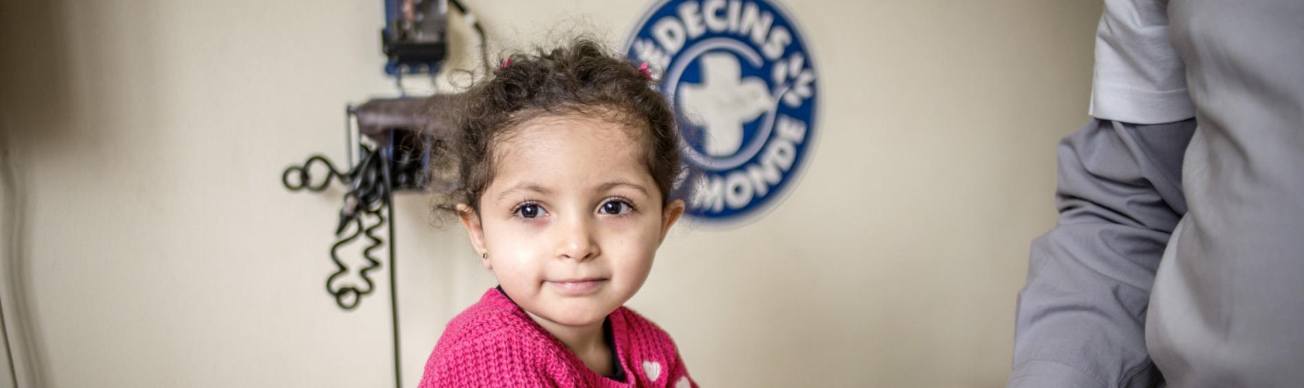 Wir versorgen Kinder ohne Zugang zum Gesundheitssystem. Foto: Olivier Papegnies