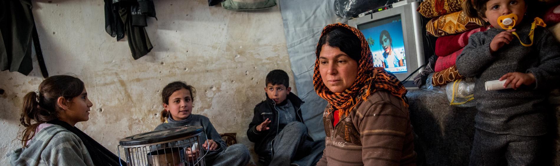 Fast 1,5 Million Menschen halten sich derzeit in Mossul auf, darunter 600.000 Kinder und Jugendliche. Foto: Guillaume Pinon