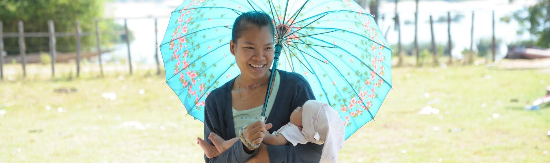 Verbesserung der Mütter- und Kindergesundheit in Laos | © Lam Duc Hiên