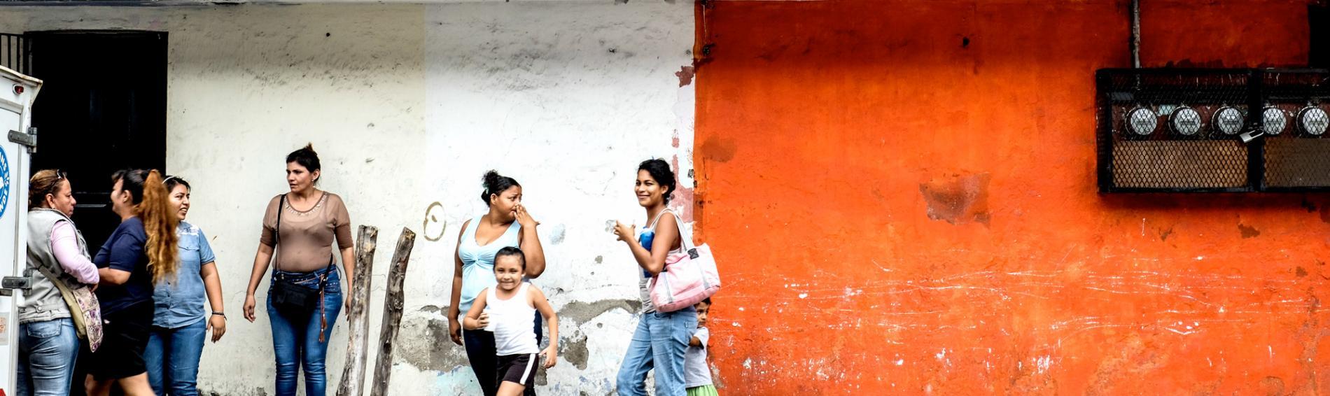 Besonders Immigrantinen leben in Mexiko in oft prekären Lebenssituationen. Foto: Nadja Massun