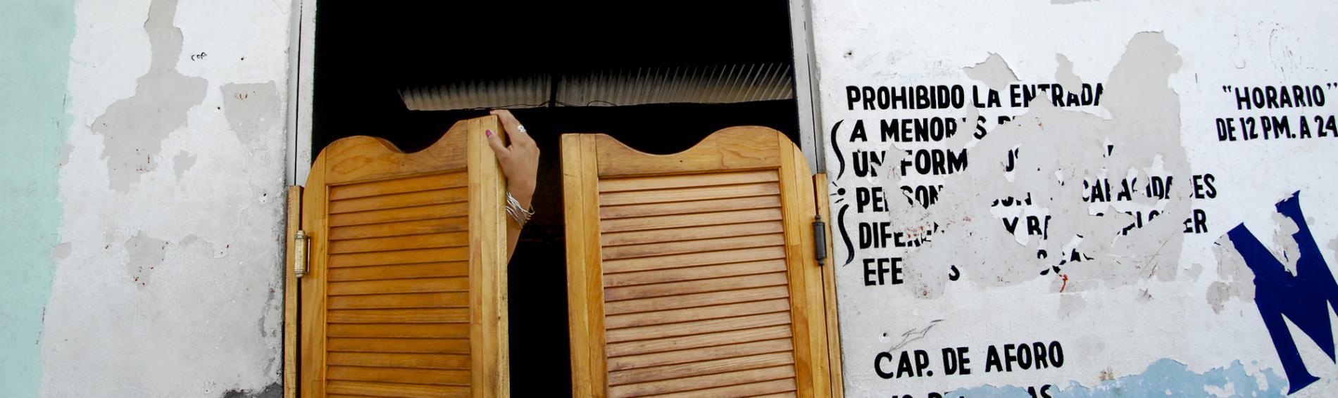 Präventions- und Schadensminderungsprogramme für SexarbeiterInnen in Mexiko. Foto: Michel Redondo