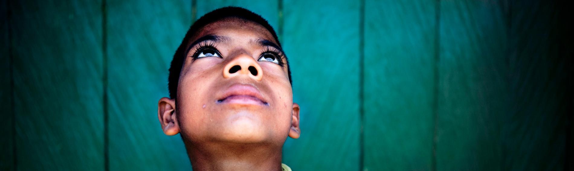 Kinder wie dieser Junge in Kolumbien stehen im Fokus unserer Arbeit. Foto: Ärzte der Welt