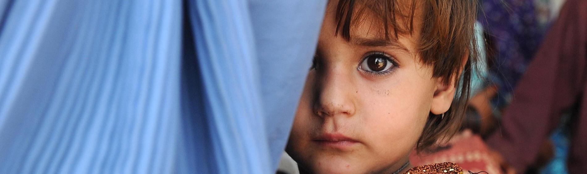 Programm für Frauen und Kinder in Pakistan. | Foto: A. Majeed