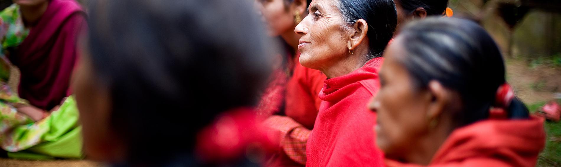 De nombreuses femmes assistent aux formations de Médecins du Monde. © Benoît Guenot