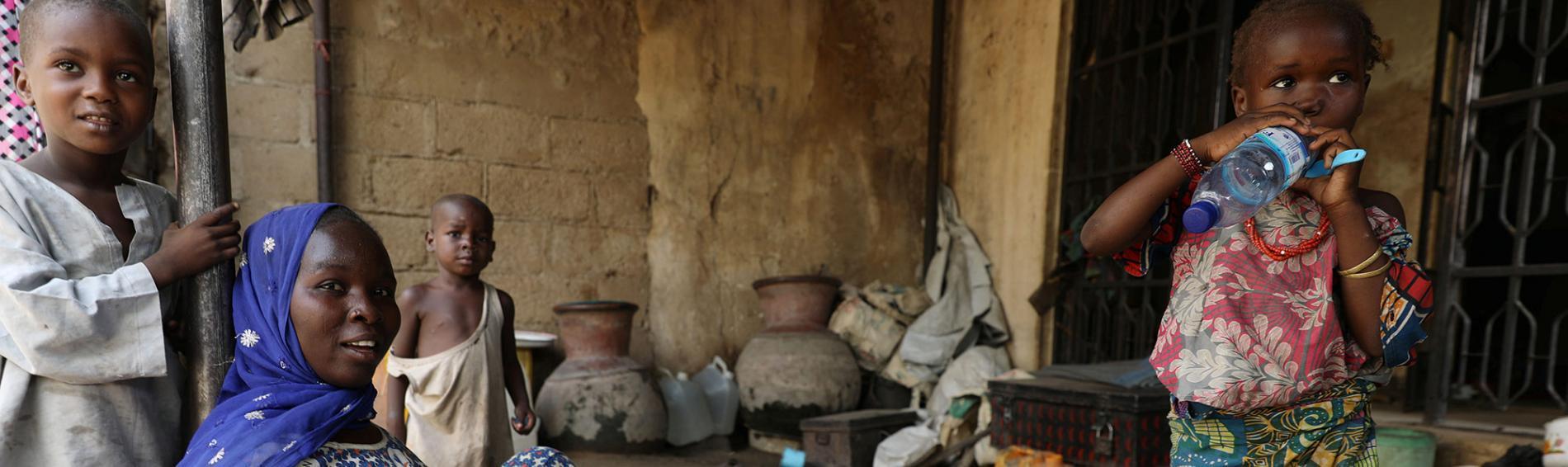 Nigeria: Viele Kinder sind mangelernährt. Foto: Reuters