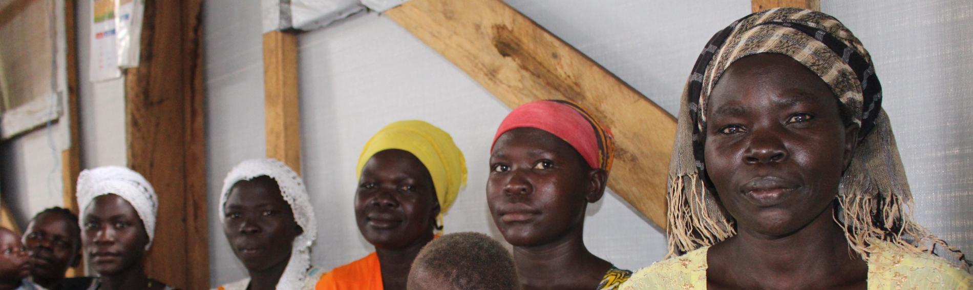 Gerade Frauen und Kinder sind im Camp Bidibidi. Foto: Ärzte der Welt